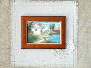 Лето в деревне | Ярмарка Мастеров - ручная работа, handmade