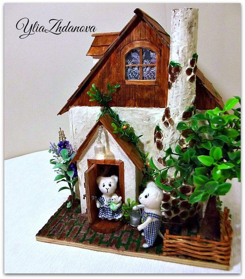 домик миниатюрный