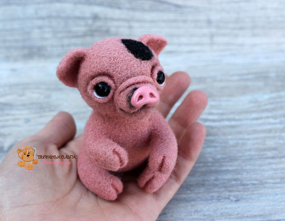мк по валянию, мк москва, учимся валять, свинка