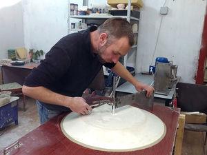 гипсовые тарелки панно. Ярмарка Мастеров - ручная работа, handmade.