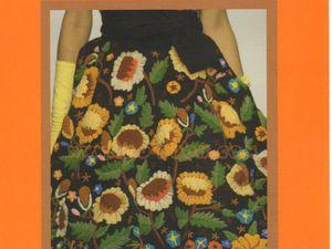 Такая прекрасная вышивка, или Живопись иглой от кутюр. Часть 2. Ярмарка Мастеров - ручная работа, handmade.