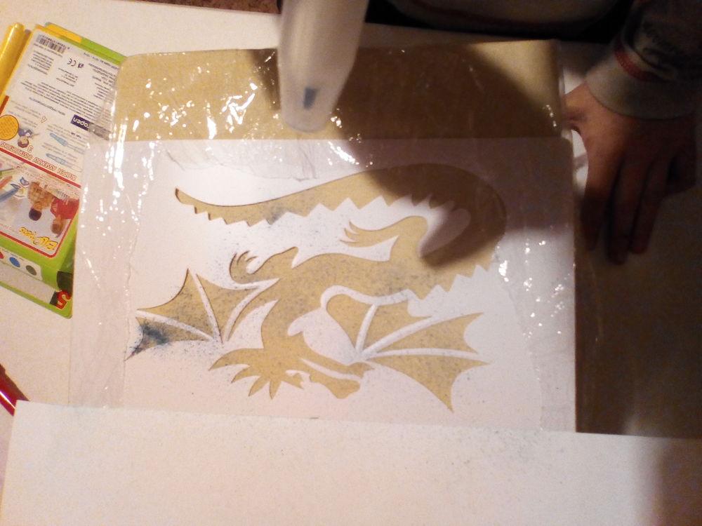 рисование ручной работы