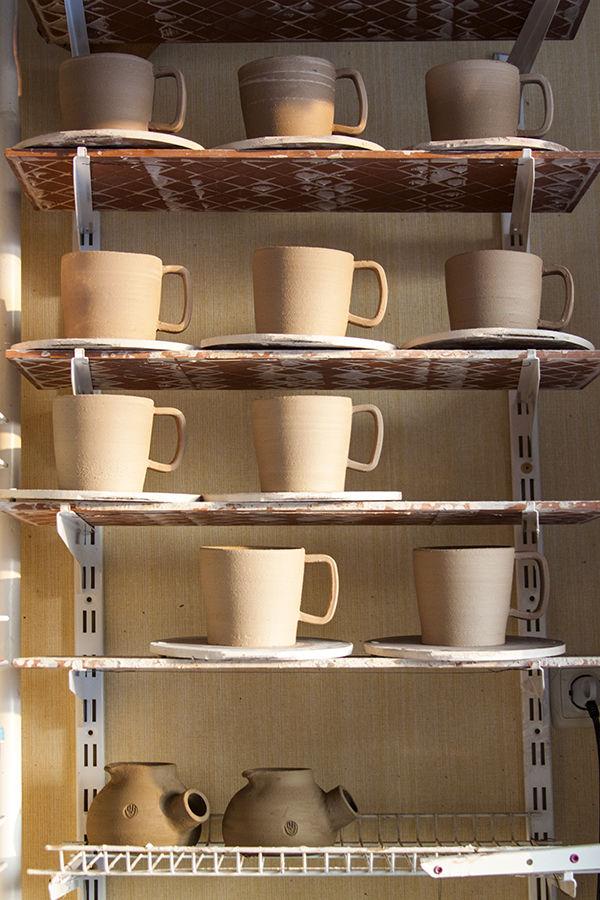 керамическая посуда, керамическая мастерская