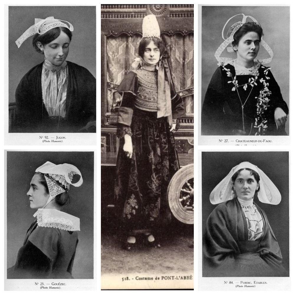 Французские истории: удивительный национальный головной убор бретонок куафф
