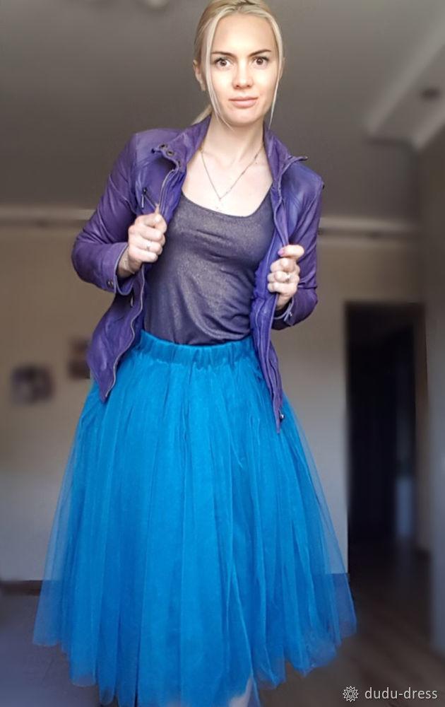 фатиновая юбка, своими руками, юбка-туту