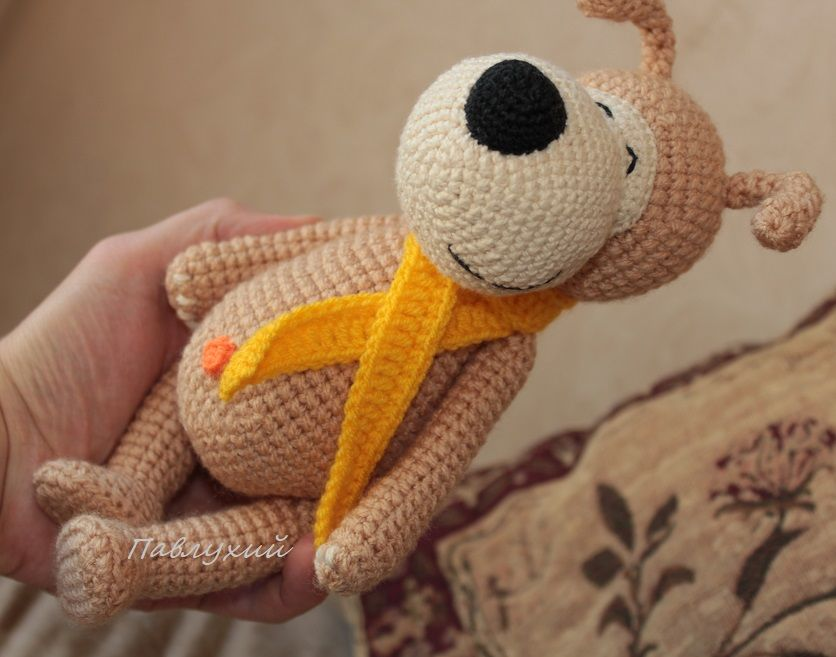 песик, символ нового года, pavlukhii, собачка буффи, символ года игрушка