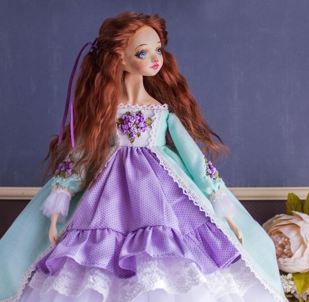 купить рыжая кукла