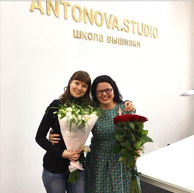 Открытие моей школы вышивки в Москве!, фото № 17