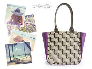 Создаем летнюю кожаную сумку «Плетенка». Ярмарка Мастеров - ручная работа, handmade.