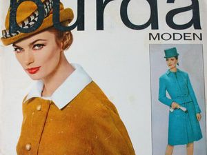 Burda moden 2/1963  Бурда Моден. Ярмарка Мастеров - ручная работа, handmade.