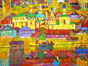 Яркая самобытность владимирской школы живописи | Ярмарка Мастеров - ручная работа, handmade