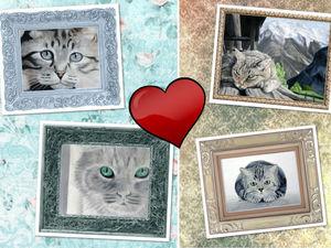 Любимый кот... А у вас? | Ярмарка Мастеров - ручная работа, handmade