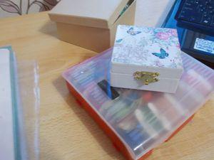 Организация рабочего места рукодельницы. Мои способы хранения материалов. Ярмарка Мастеров - ручная работа, handmade.