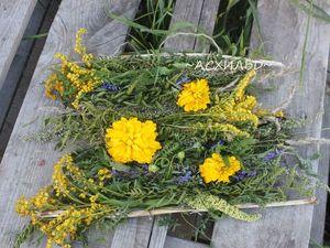Ткачество цветами и травами. Ярмарка Мастеров - ручная работа, handmade.