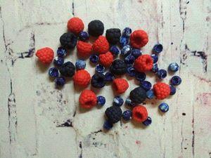 Создание реалистичных ягод из полимерной глины. Ярмарка Мастеров - ручная работа, handmade.