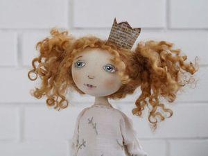 Текстильная кукла. Как стать принцессой. | Ярмарка Мастеров - ручная работа, handmade