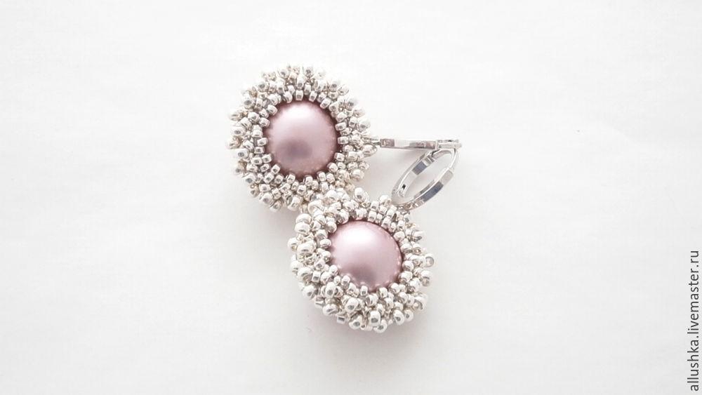 designer jewelry, beadwork, мк для начинающих, серьги