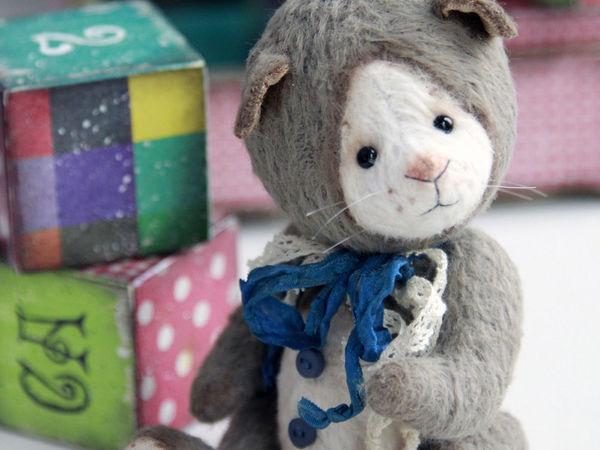 Розыгрыш Котёнка Тедди   Ярмарка Мастеров - ручная работа, handmade