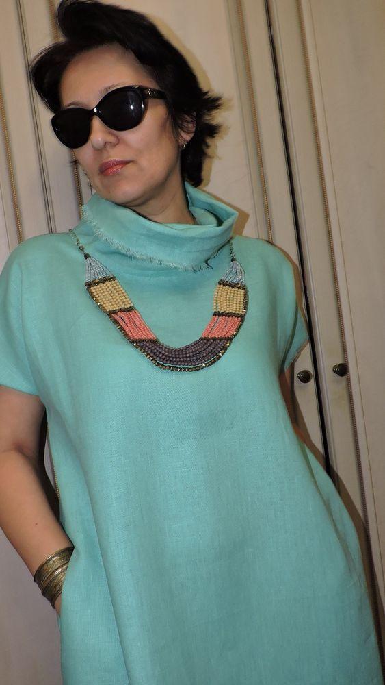 платье на заказ, одежда для женщин, льняная одежда