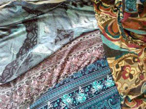 Подбиваю остатки: юбки-полусолнце из трикотажа:) | Ярмарка Мастеров - ручная работа, handmade