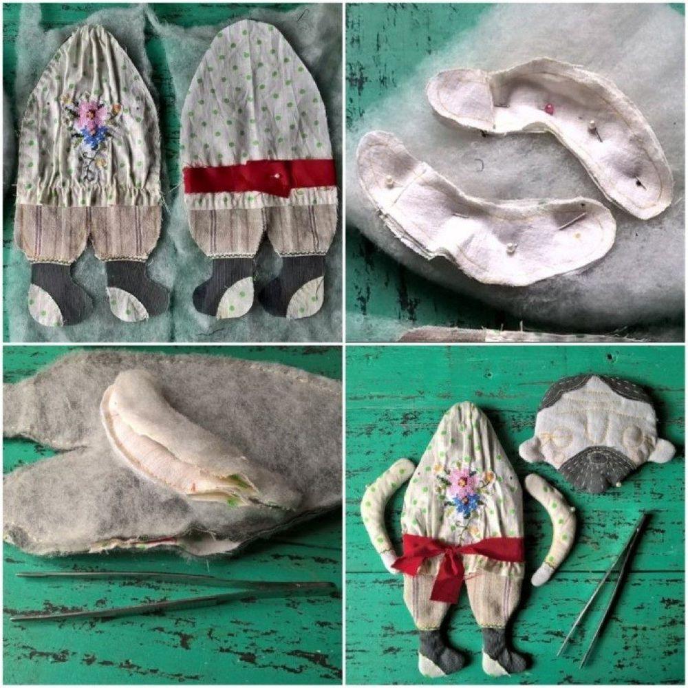 бабушка, куклы ручной работы