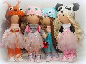 Куколки по  новогодним ценам!!. Ярмарка Мастеров - ручная работа, handmade.