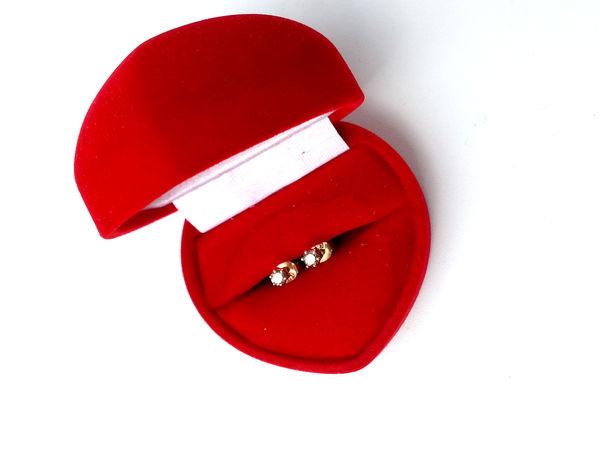 DIAMAND. Новинка, золотые серьги - пуссеты с бриллиантами | Ярмарка Мастеров - ручная работа, handmade