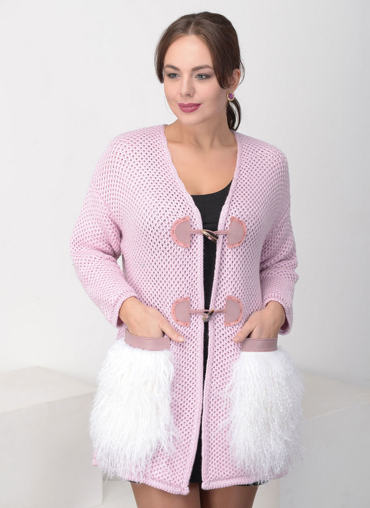 cardigan made of wool