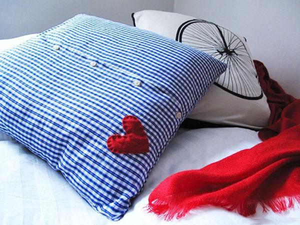Как сделать подушку из старого