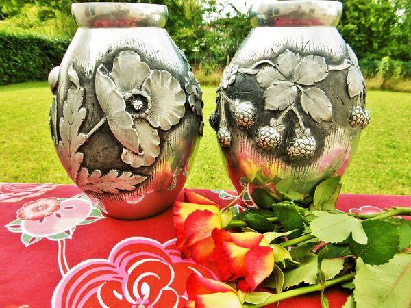Сегодня в моём магазине две прекрасные вазы эпохи Арт нуво! | Ярмарка Мастеров - ручная работа, handmade