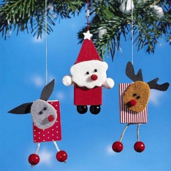 Новогодняя елочная игрушка своими руками для детей