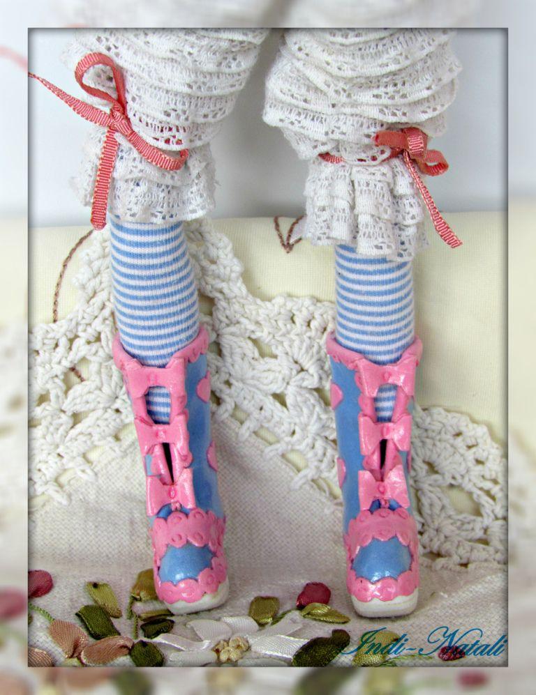 куклы и игрушки, процесс, ленты, хендмейд, куколка