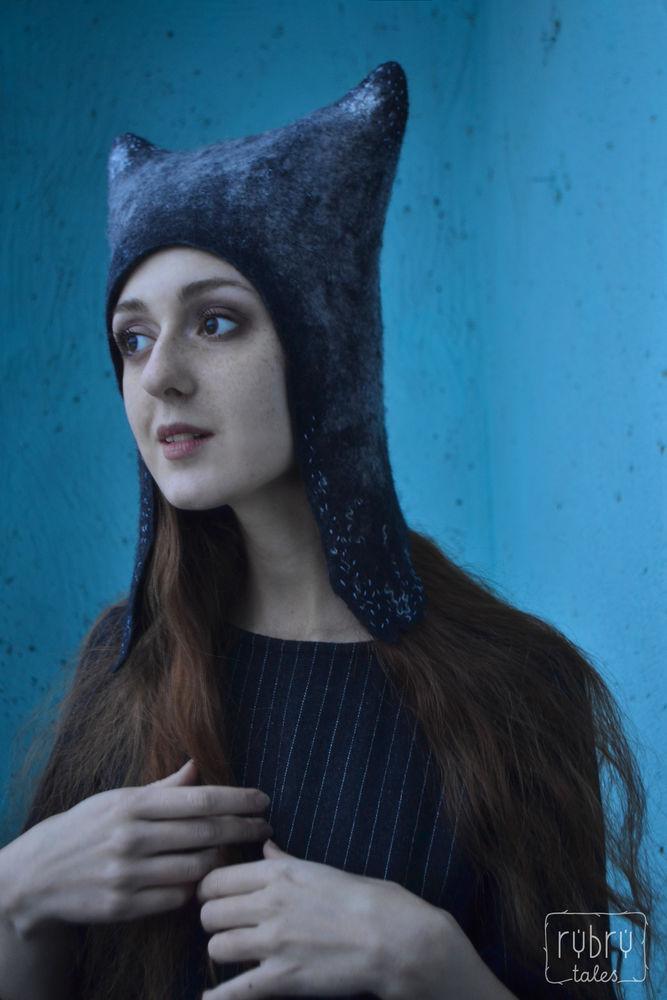 шапка с ушками, самовыражение
