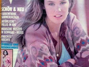 Журнал Verena № 6, 1991 год. Содержание. Ярмарка Мастеров - ручная работа, handmade.
