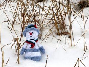 Друзья! Прошу поддержать голосом моего снеговичка!. Ярмарка Мастеров - ручная работа, handmade.