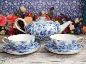 Воздушное чаепитие для двоих. Ярмарка Мастеров - ручная работа, handmade.