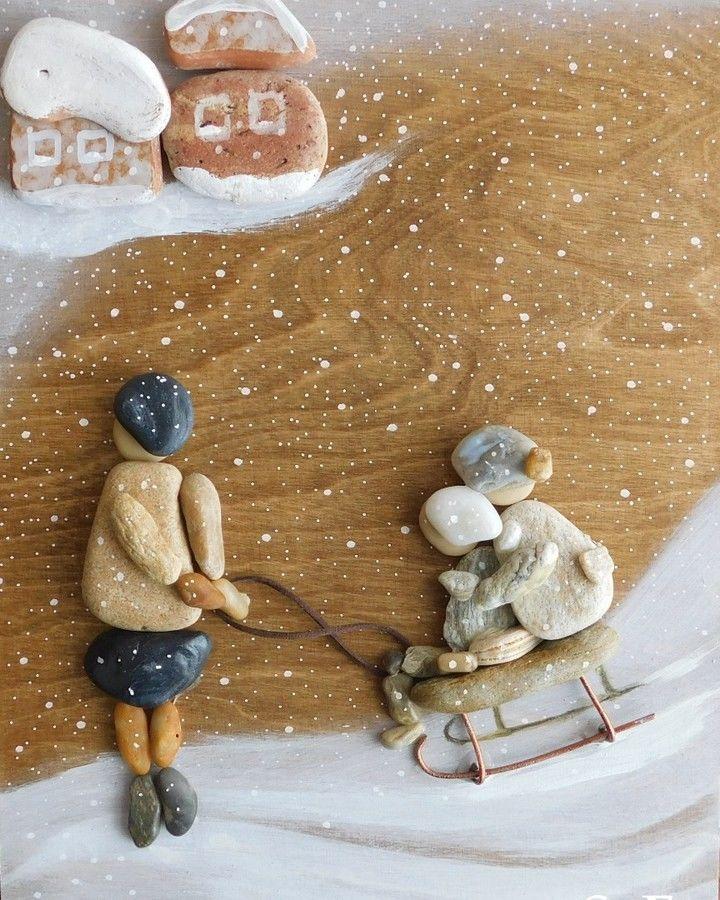 Живые камни Erzsebet Szilajka: тихие истории, рассказанные морской галькой