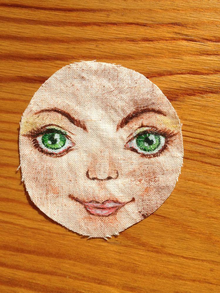 текстильная кукла, глаза для кукол, кукла в подарок, необычный подарок