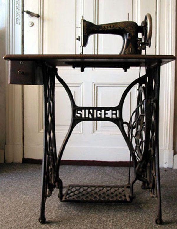 Старинные швейные машинки Зингер (Сингер). Кратко., фото № 1