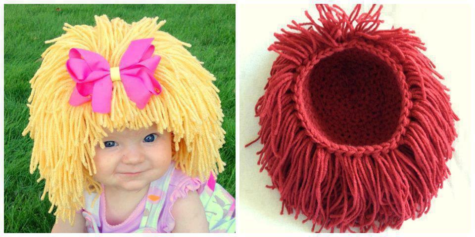 Как сделать парик для девочки своими руками