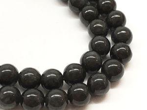 Черный нефрит — редкий и необычный камень. Ярмарка Мастеров - ручная работа, handmade.