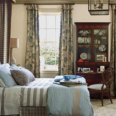 English Country House style bedroom