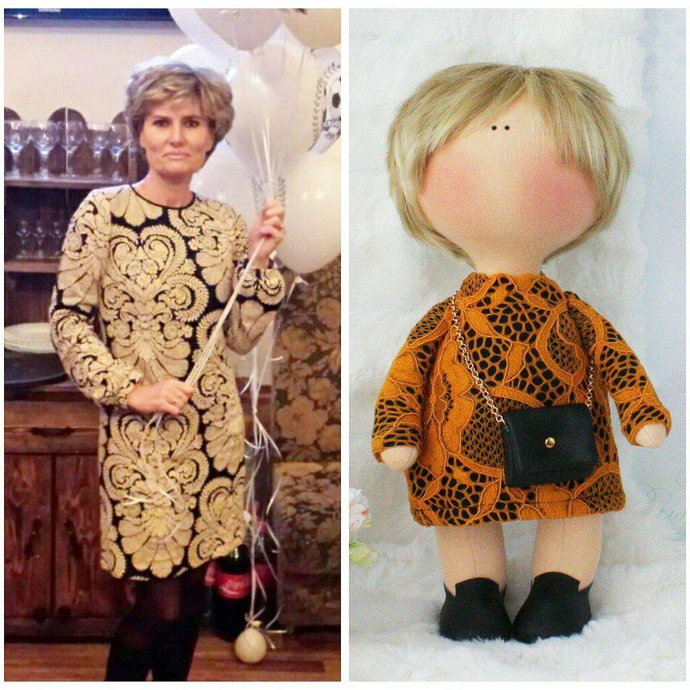 портрет по фото, интерьерная кукла, кукла своими руками, куколка, на заказ