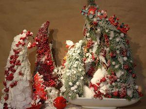 Новогодняя коллекция Композиций, ёлок-сценок!. Ярмарка Мастеров - ручная работа, handmade.