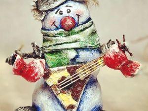 Мультфильмы с моими снеговиками. Ярмарка Мастеров - ручная работа, handmade.