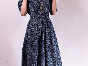Последнее платье-полусолнце   Ярмарка Мастеров - ручная работа, handmade