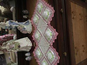 Декоративные салфетки. Ярмарка Мастеров - ручная работа, handmade.
