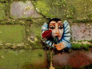 Сердце бедного Пьеро! Аукцион на авторское украшение.. Ярмарка Мастеров - ручная работа, handmade.