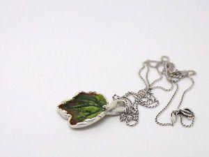 Создание украшенияе из пластичного серебра своими руками   Ярмарка Мастеров - ручная работа, handmade