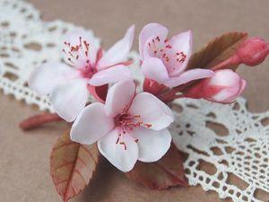 Дыхание весны: женственные украшения из полимерной глины. Ярмарка Мастеров - ручная работа, handmade.